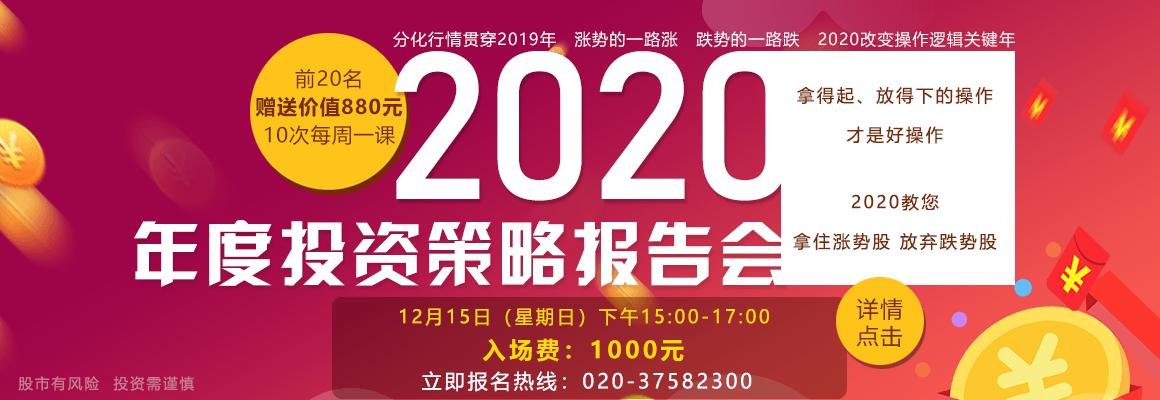 2020年度投资策略报告会-详情点击
