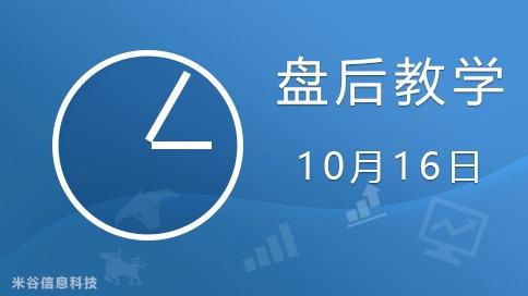 盘后研讨分析1016【修正】