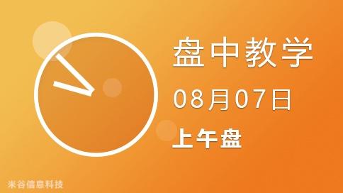 9点50分解盘(盘中)08-07