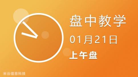 盘中视频0121-上午盘