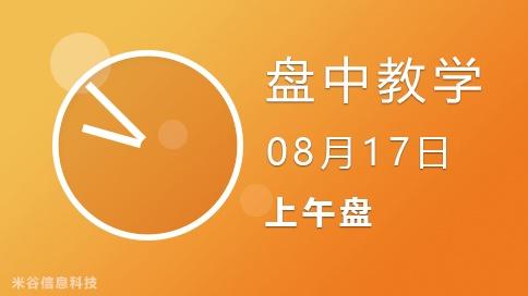 盘中视频0817-上午盘