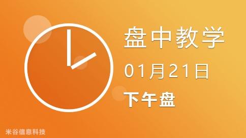 盘中视频0121-下午盘