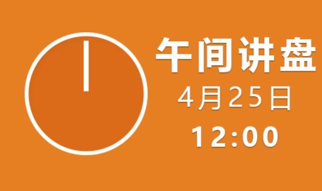 【免费】午间讲盘